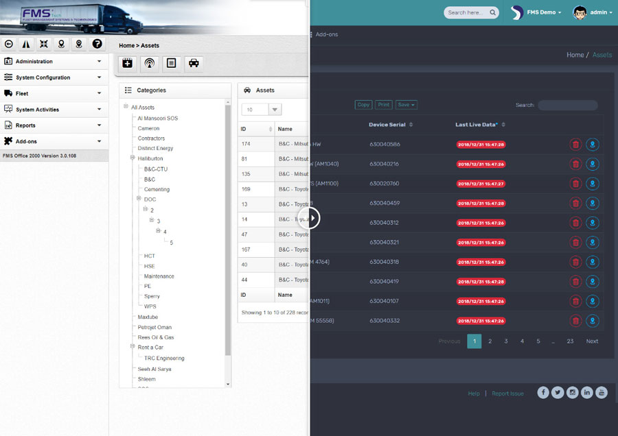 FMS Smart Mobility more rich content Feature