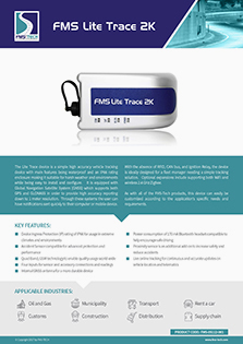 Download FMS Tech FMS Lite Trace 2000 Data Sheet