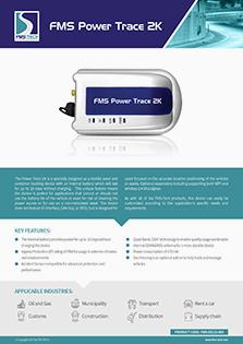 Download FMS Tech FMS Power Trace 2k Data Sheet
