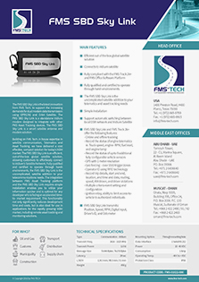 Download FMS Tech FMS SBD Sky Link Data Sheet
