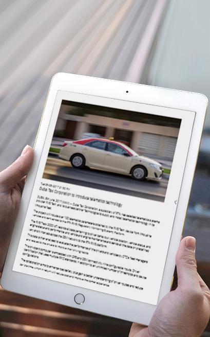 WAM Dubai: Taxi Corporation Introduces Telematics Technology