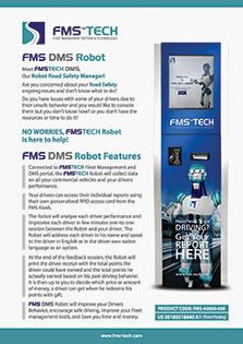 FMS DMS Robot Data Sheet