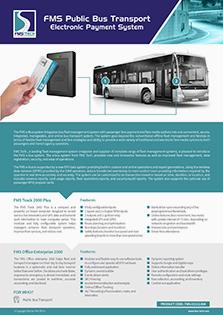 FMS Public Bus Transport Data Sheet