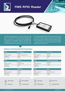 FMS RFID Reader Data Sheet