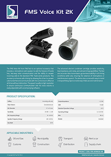 FMS Voice Kit 2K Data Sheet